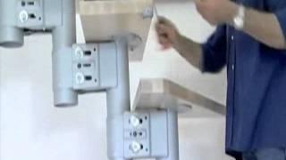 Монтаж маршевой  итальянской лестницы ARKE Kompact(Итальянская маршевая лестница Arke Kompact Маршевая лестница Kompact - лестница 156 возможностей! Запатентованная..., 2012-01-28T15:37:36.000Z)