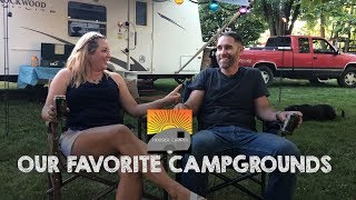 Our Favorite Campgrounds