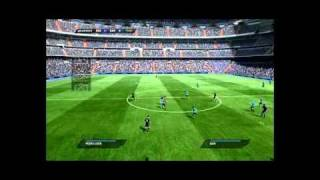 FIFA 11 Demo Gameplay PC (Barcelona Vs Real Madrid)