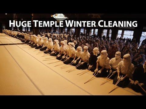 Kyoto Event: Winter Cleaning at Nishi Hongan-ji (Osusuharai)