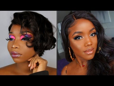 DARK SKIN MAKEUP Tutorial 2019 👩🏾🦋| Makeup Tutorials Compilation For Black Women {PART 3}