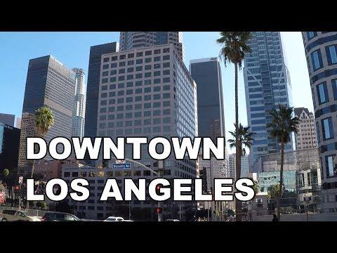 Downtown Los Angeles, California   Street Walk
