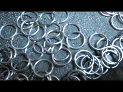 Making jump rings the easy way - square cut