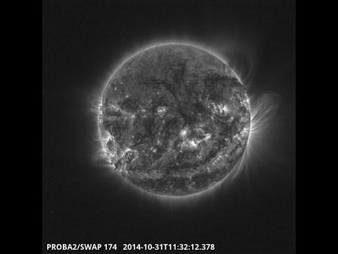SWAP views the Sun 31 Oct 2014