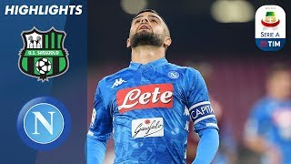 Sassuolo 1-1 Napoli | Late Insigne Goal Rescues Point for Napoli | Serie A
