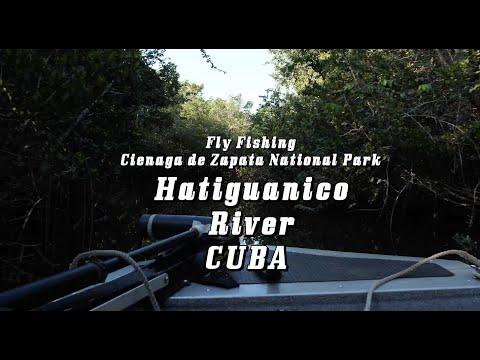 Tarpon Fly Fishing - Rio Hatiguanico, Cuba