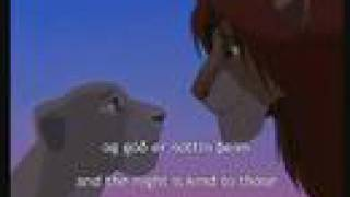 Lion King (Icelandic) Can You Feel The Love Tonight