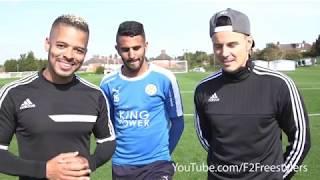 لا يصدق .. استعراض مهارات النجم-الجزائري رياض محرز (يتحدى-نجوم-الفريستايل ) 2017