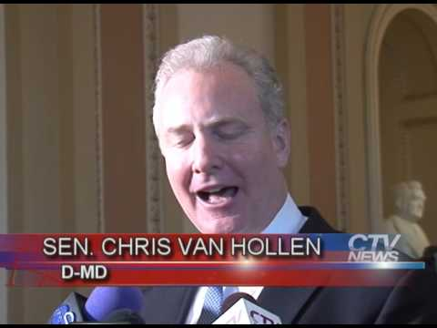 Sen. Chris Van Hollen Swearing-In