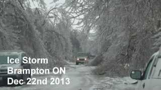 Brampton Ice Storm (December 22nd 2013)