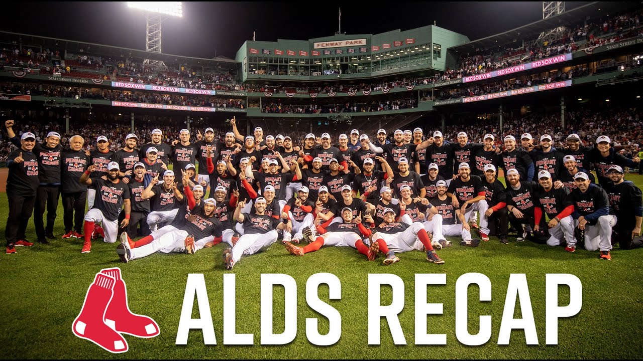Look back at the Boston Red Sox ALDS Victory over the Tampa Bay Rays