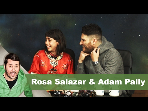 Rosa Salazar & Adam Pally  Getting Doug with High