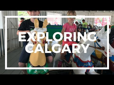 Exploring Calgary | Science, History, and Farm - Vlog