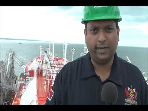 Trinidad and Tobago Energy Minister Kevin Ramnarine visits LNG tanker PART 2