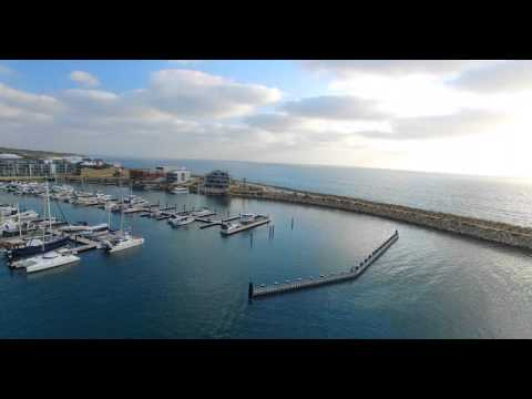 Mindarie Marina By Drone - Perth, Western Australia