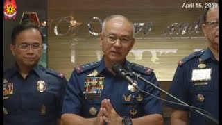 PNP chief warns drug lords: Drug war to be relentless amid Holy Week