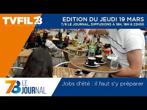 7/8 Le Journal – Edition du jeudi 19 mars 2015