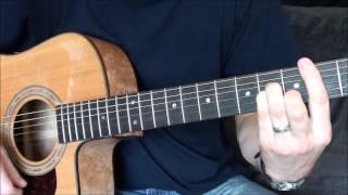 David Bowie Valentines day Guitar Tutorial