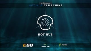 Casters Dota 2 Match #2 - BTS Hot Hub TI Machine