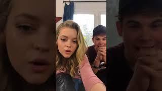 jade pettyjohn and Ricardo hurtado live on Nickelodeon instagram 7 April 2018