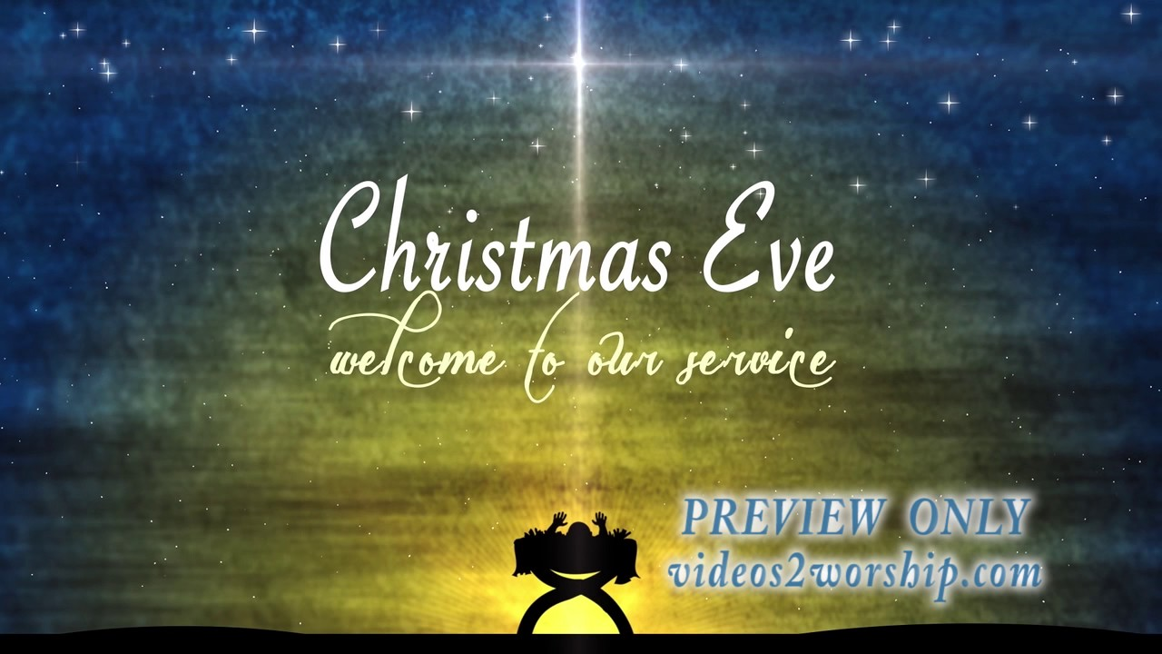 Christmas Eve Tile Worship Background Baby Jesus In Manger