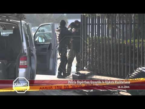 Policia Shpërthen Granatën te Gjykata Kushtetuese
