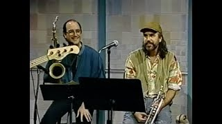 Brecker Brothers on the Dave Letterman show. December 15 1992