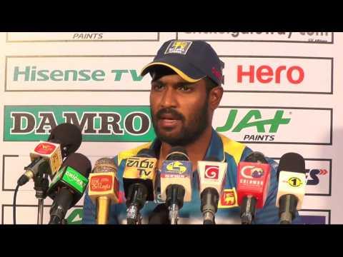 1st T20I Post Match Press Conference - Maxwell & Kapugedara