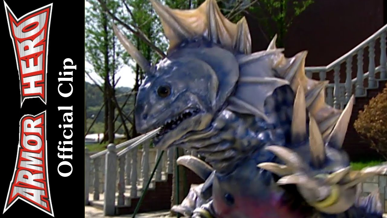 Armor Heroes Fights with Monsters – Official English Clip  [HD 公式] – 63