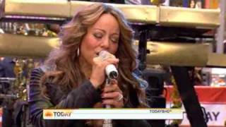 Mariah Carey - H.A.T.E.U.  ( Live Today Show 10/02/2009 )