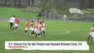 Regionalliga West, 18. Runde: SCR Altach Amateure - Wacker Innsbruck Amateure