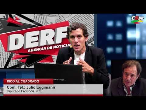 Eggimann sobre Presupuesto: No es lo ideal