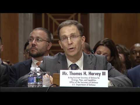 Defense Officials Testify at Senate Foreign Relations Committee