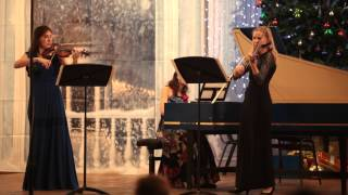 Bach Trio Sonata no.3 d-moll (BWV 527) - III. Vivace