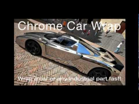 Chrome Car Wrap film from Alsa