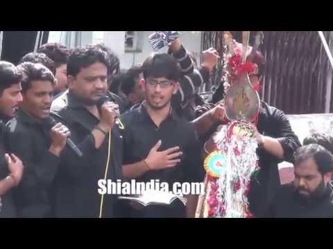 8th Muharram Hussaini Kothi Juloos 1438-2016