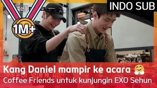 [KANG Daniel, EXO Sehun] Kang Daniel mampir ke acara Coffee Friends untuk kunjungin EXO Sehun!