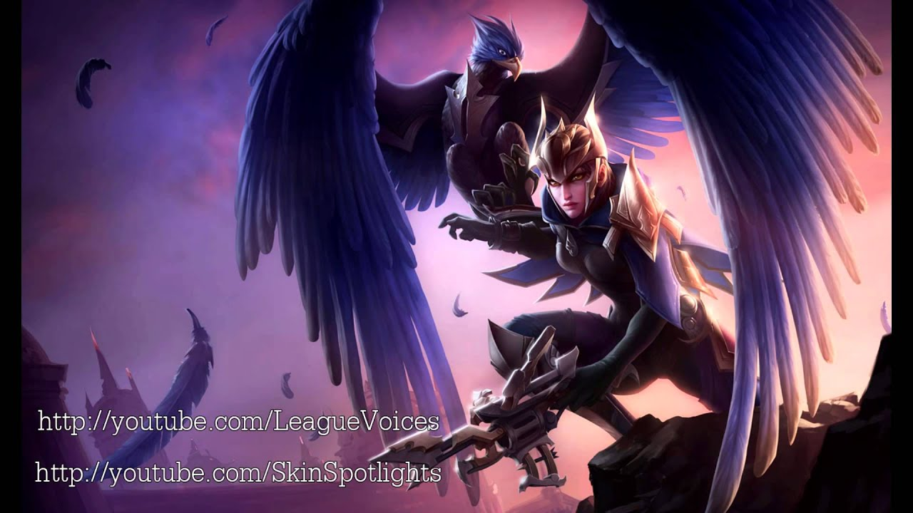 quinn voice english league of legends youtube. Black Bedroom Furniture Sets. Home Design Ideas
