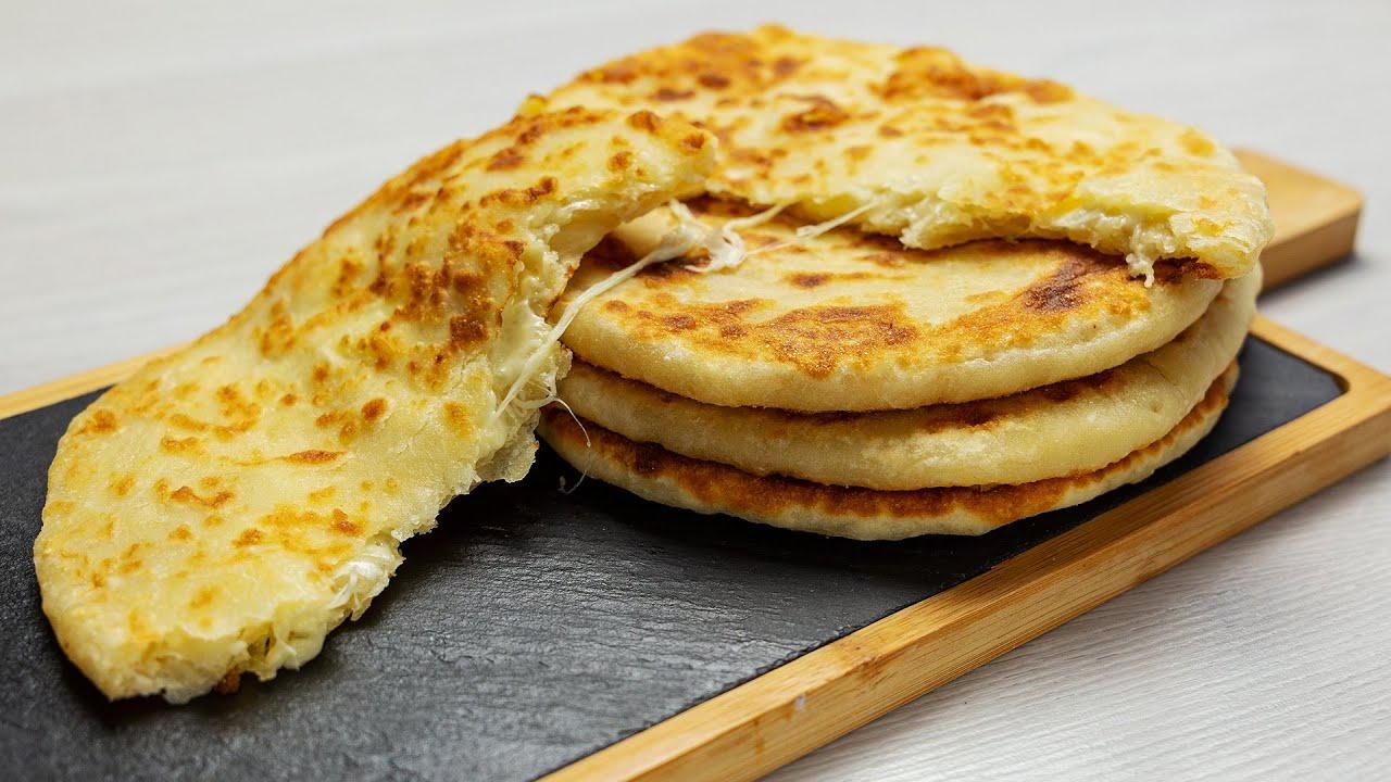 картины, иллюстрирующие чесночные лепешки на сковороде рецепт с фото дополнение