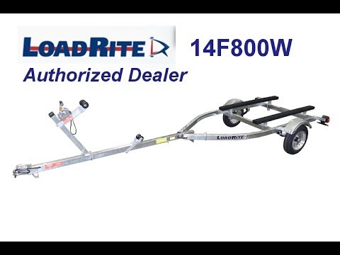 Load Rite 14F800W Trailer Sunfish Setup
