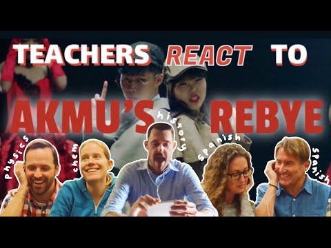 K-Toro || Teachers React To AKMU RE-BYE