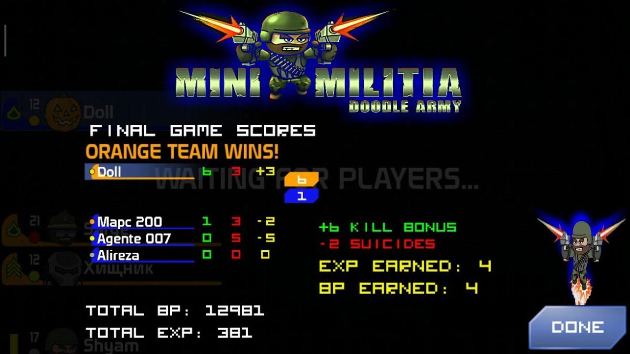 download game mini militia mega mod denzel versi terbaru