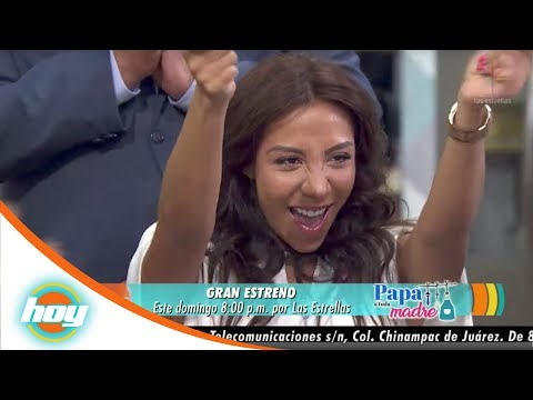 Michelle González y Juan Carlos Barreto, pareja en 'Papá a toda madre' | Hoy