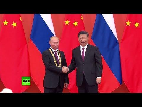 «Президент Путин — наш друг»: российского лидера наградили Орденом Дружбы КНР
