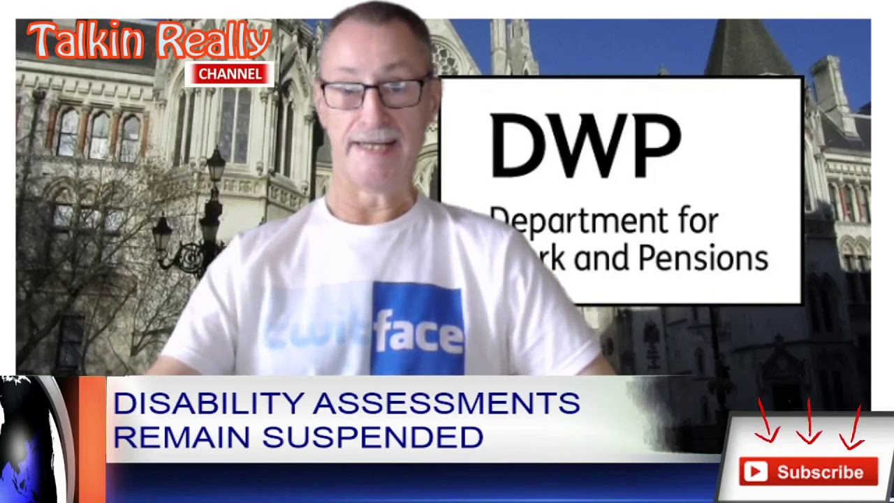 DWP Face-to-Face Assessments Remain Suspended