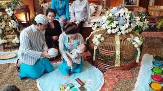 Download lagu Perayaan ulang tahun ke 1 anak Vicky shu dan Aura Kasih hadir juga. (Jakarta - Indonesia)
