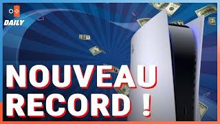 LA PS5 BAT UN RECORD / UN SECRET DANS CYBERPUNK / LA SÉRIE LA PLUS CHÈRE DE L'HISTOIRE - JVCom Daily