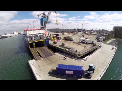 Official opening Norwegian Sea-Cargo Hub in Rotterdam