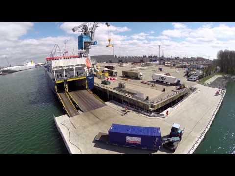 Official opening Norwegian Sea-Cargo Hub in Rotterdam