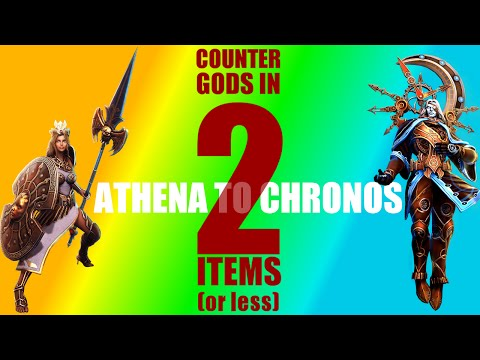 How to counter all gods in 2 items or less: A-C: Athena - Chronos
